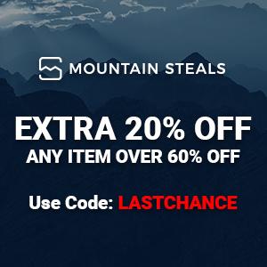 {Mountain Steals:清仓区低至4折 +